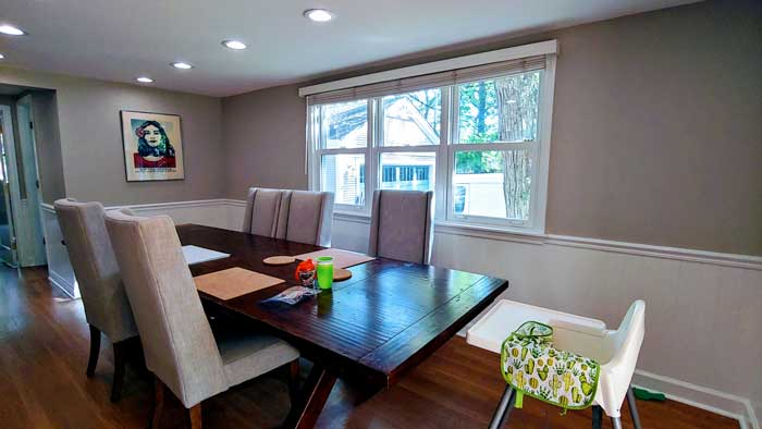 interior dining room paint cost prices