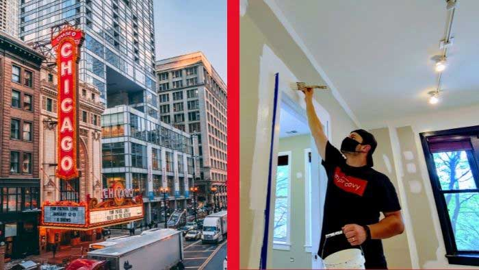 Q: How much does it cost to hire a painter in chicago?
