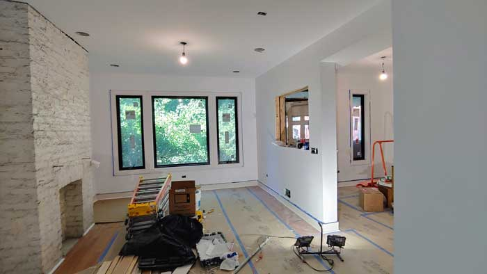 chicago il painting room costs