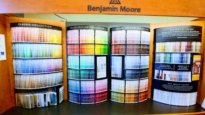 Benjamin Moore best interior paint colors brand