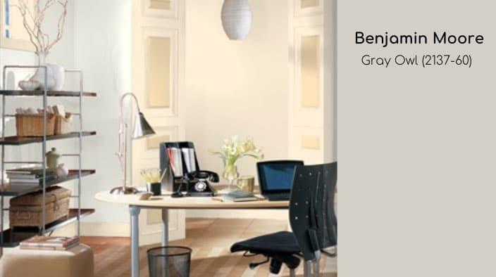 Benjamin Moore best interior paint color gray