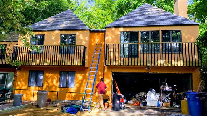 best paint for exterior stucco home