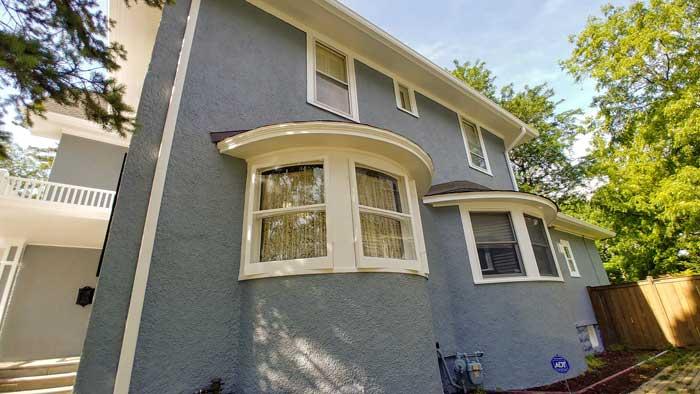 exterior siding stucco house