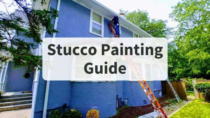 stucco house painting guide