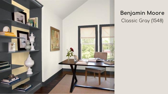 popular classic interior paint colors Benjamin Moore