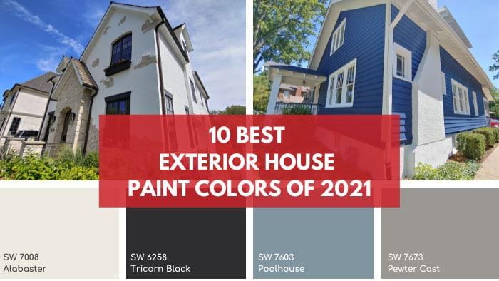 2021 exterior house paint colors