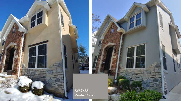 sherwin williams exterior paint color trends
