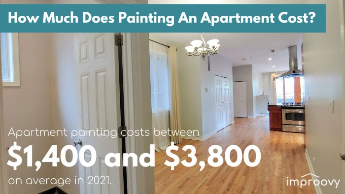 apartment painting service costs