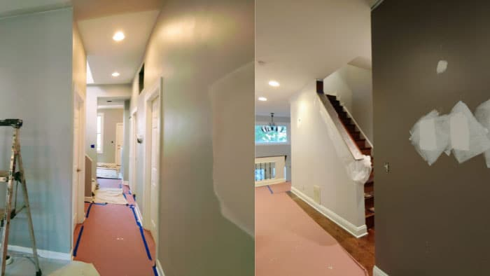 drywall painter apartment contractors wall